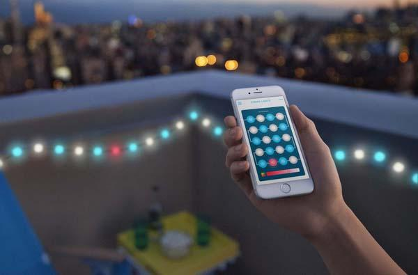 Kaleido App Controlled Multicolor LED String Light