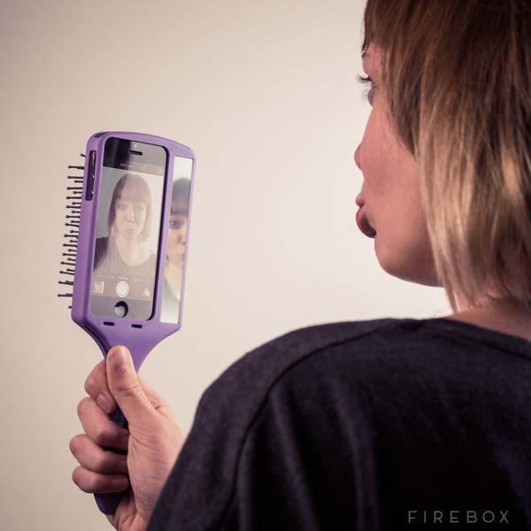 Selfie Brush iPhone 5s Case