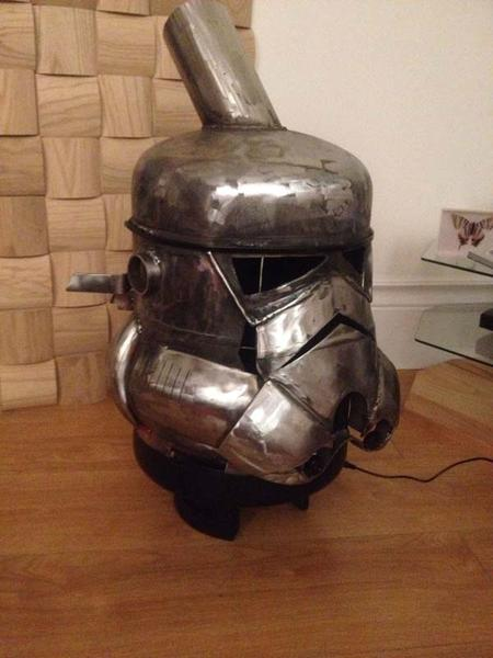 Star Wars Stormtrooper Inspired Log Burner