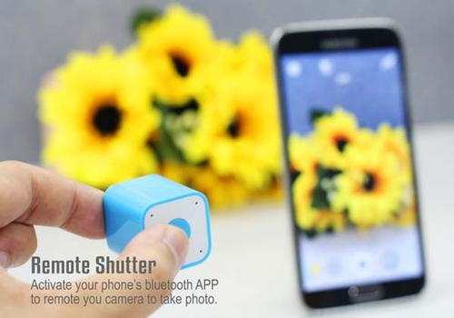 The 3-In-1 Smart Box Works as Mini Speaker Remote Shutter and Phone Locator