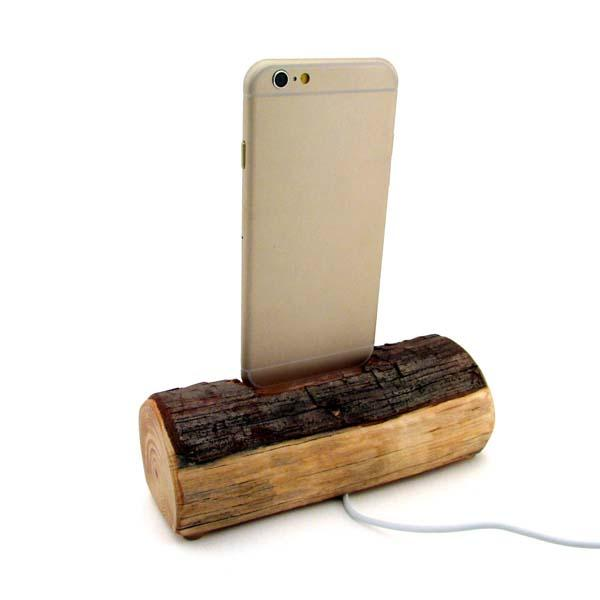 Dock Artisan Redwood Docking Station for iPhone 6/5/5s