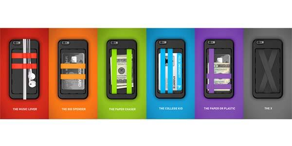 Felix HoldTight iPhone 6 Case with Colored Bands