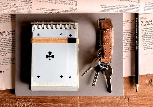 Hard Graft Key Belt Leather Keychain