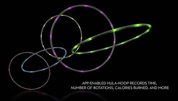 Hoop App-Enabled Smart Hula-Hoop
