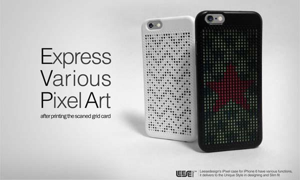 iPixel iPhone 6 Case Allows You to Build Your Own Pixel Art
