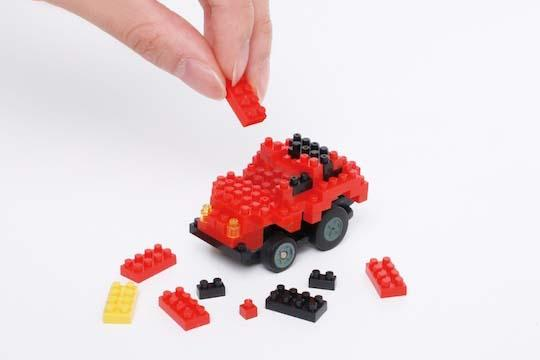 Nanoblock Motion Choro-Q Customizable and App-Controlled Car
