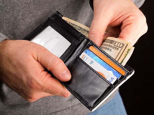 Nintendo Controller Inspired Bifold Wallet