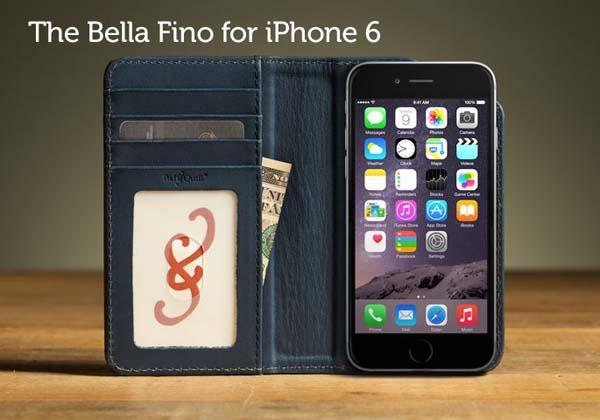 Pad&Quill Bella Fino iPhone 6 Plus and iPhone 6 Cases