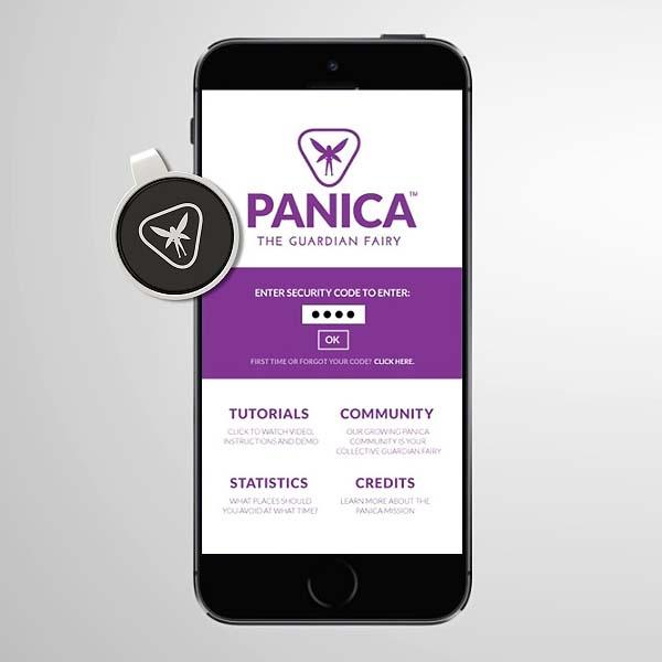 Panica Wireless Panic Button Focuses on Your Safty