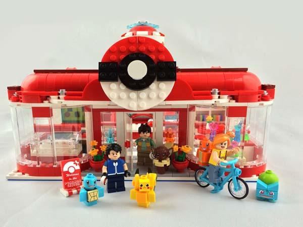 Pikachu's Pokemon Center Visit LEGO Set