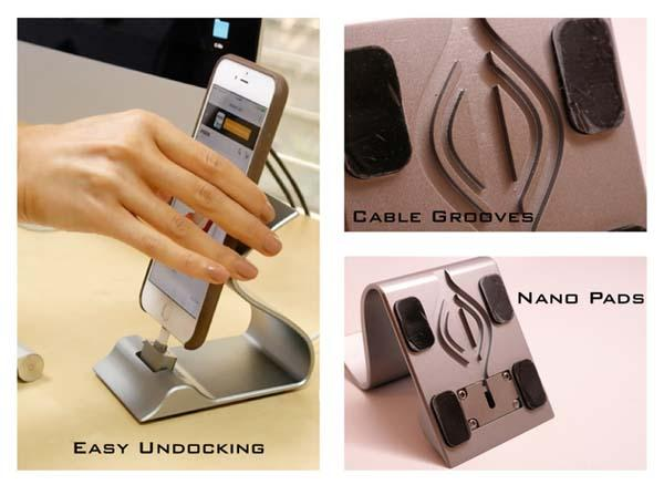 Sarvi Dock Charging Station for iOS and Android Devices