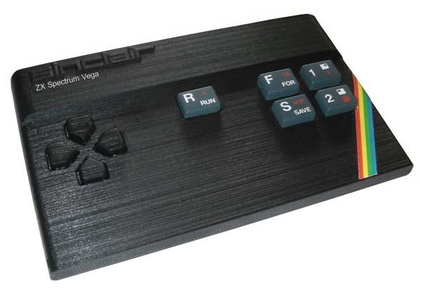 Sinclair ZX Spectrum Vega Gaming Computer