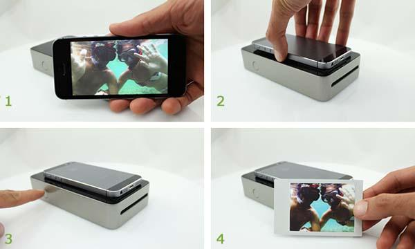 SnapJet Instant Photo Printer for Smartphones