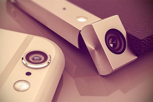 Spinner Concept Smartphone with a Rotatable Camera