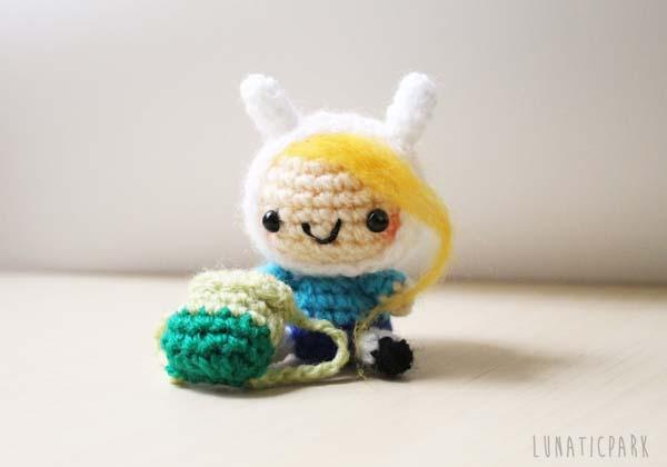 The Adorable Adventure Time Amigurumi Dolls