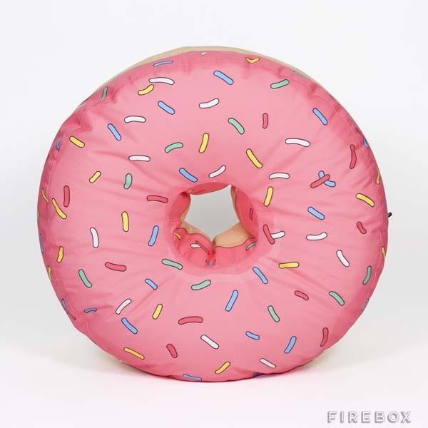 The Doughnut Bean Bag