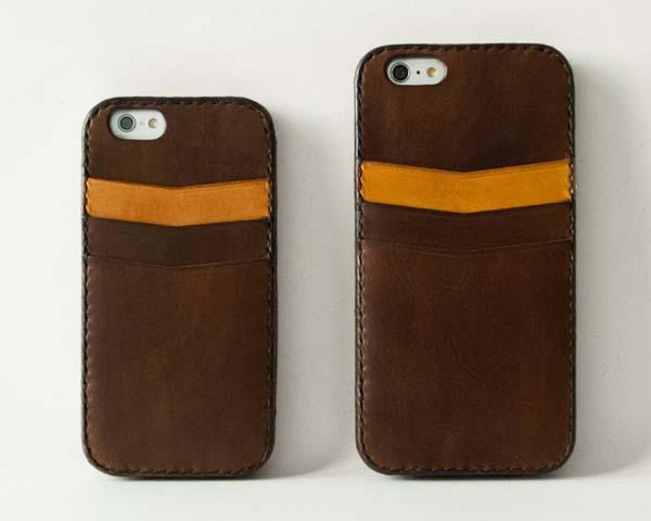 The Handmade Leather iPhone 6 Plus and iPhone 6 Cases