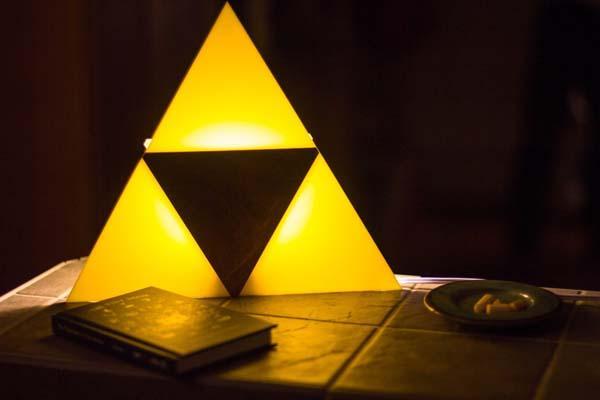 The Legend Of Zelda Triforce Wall Lamp Gadgetsin