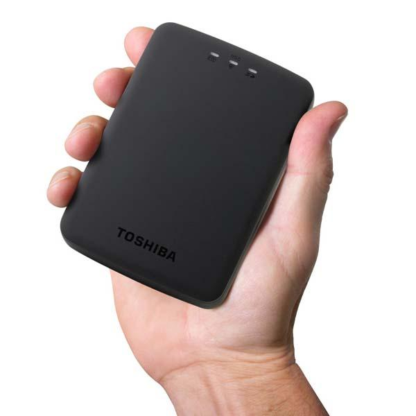 Toshiba Canvio AeroCast Portable Wireless Hard Drive