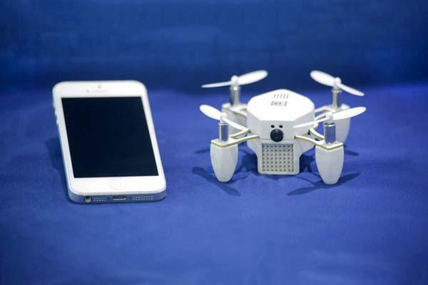 ZANO App-Controlled Mini Quadcopter Drone for Aerial Photography