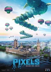 New Pixels Movie Posters Unveiled