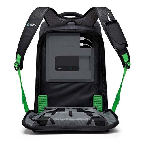 AMPL SmartBag App-Enabled Smart Laptop Backpack with Built-in Battery