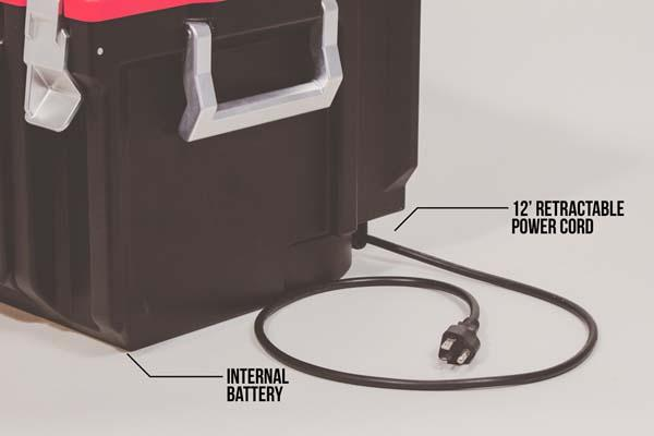Coolbox An Advanced Toolbox with Bluetooth Speaker, USB Charger and More
