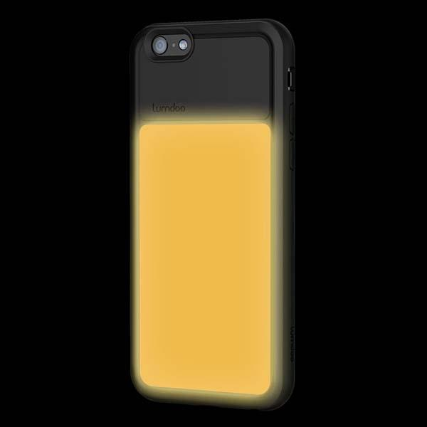 Duo Cover iPhone 6 Plus and iPhone 6 Cases with Customizable Night Glow Effect