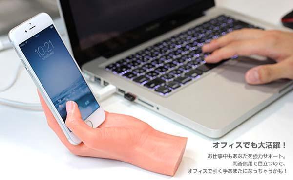 Hamee Dokkiri Hand Figure Phone Stand