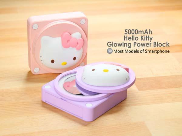 Hello Kitty Glowing Power Bank