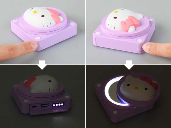 Hello Kitty Glowing Power Bank