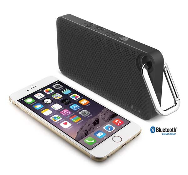 iLuv Aud Mini 6 Portable Bluetooth Speaker
