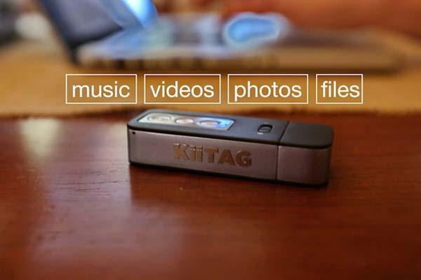 KiiTAG 2 A Digital Swiss Knife for iOS and Android Devices