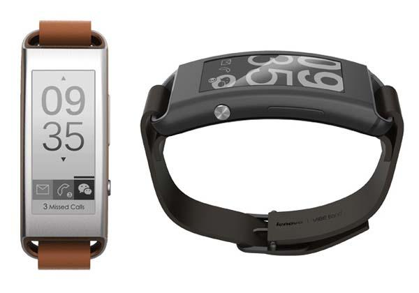 Lenovo Vibe Band VB10 Smart Wristband Announced
