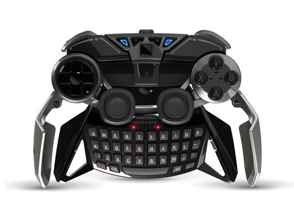 Mad Catz Lynx 9 Transformable Game Controller With Keyboard