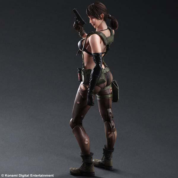 Metal Gear Solid 5 Quiet Play Arts Kai Action Figure