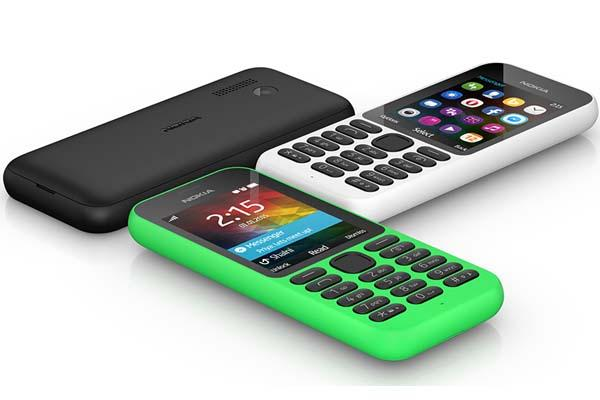 Microsoft Nokia 215 Feature Phone Announced
