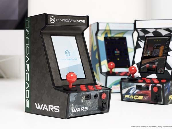 Nanoarcade Mini Arcade Cabinet Fits in Your Hands