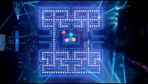 Real-Life Pac-Man in Bud Light's Super Bowl Commercial