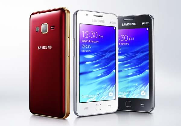 Samsung Z1 the First Tizen Smartphone Announced