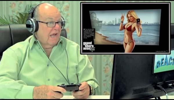 Seniors Play Grand Theft Auto V