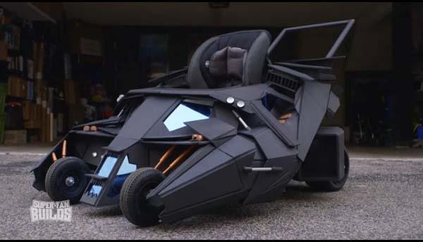 The Batmobile Baby Stroller Designed for Baby Batman