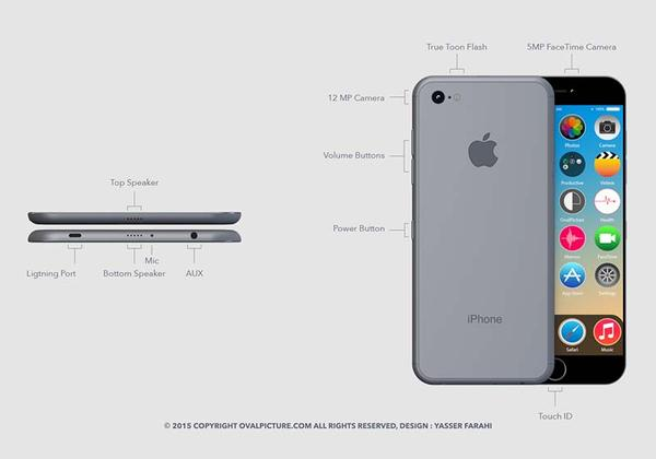 The Concept iPhone 7 Delivers Sleek Design and Reasonable Specs