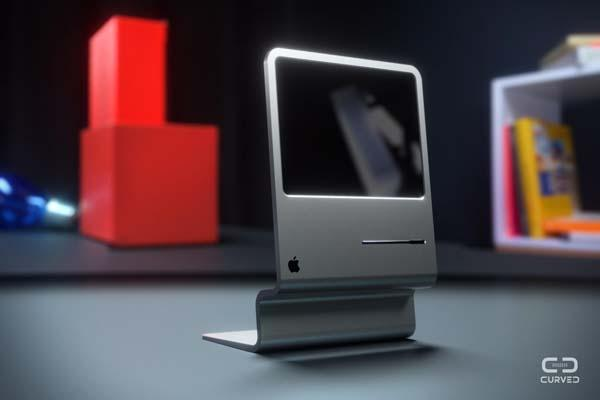The Futuristic iMac Concept Pays Tribute to Original Macintosh