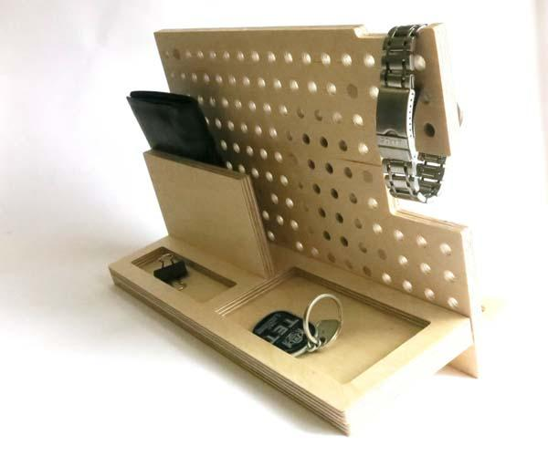 The Handmade Customizable Docking Station for Your Phone, Apple Watch and More