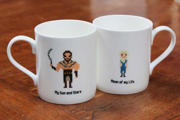 The Handmade Game of Thrones Coffee Mugs