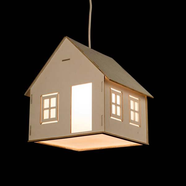 The Handmade House Shaped Pendant Light