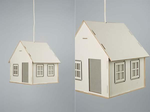 The Handmade House Shaped Pendant Light
