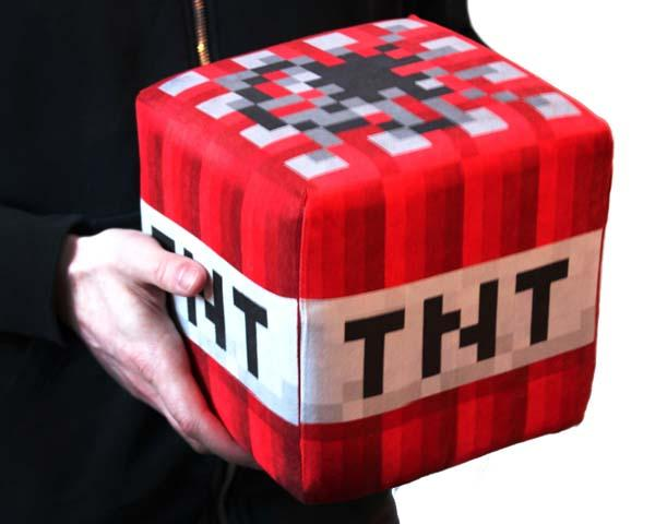 The Handmade Huge Plush Minecraft Blocks