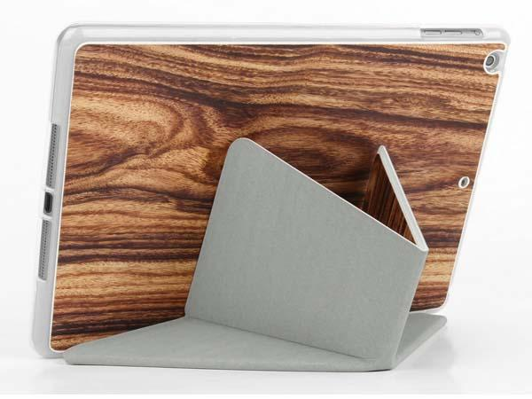 The Handmade iPad Air 2 Case with a Combination of Leather and Wood